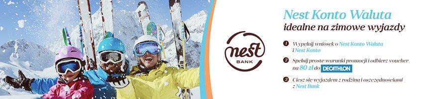 konto walutowe nest bank - reklama