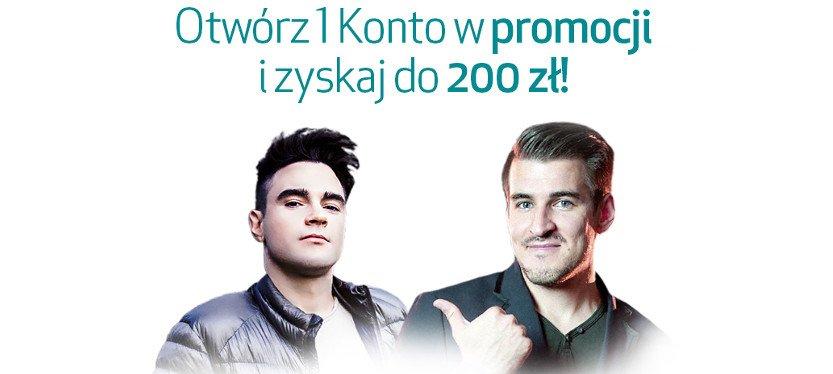 popiersia dwóch mężczyzn na białym tle - promocja Credit Agricole