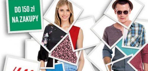 reklama vouchera do H&M