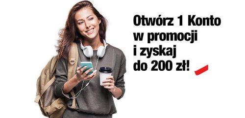 Credit Agricole: nawet 200 zł premii za założenie 1 Konta