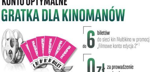 sześć różowych biletów do multikina