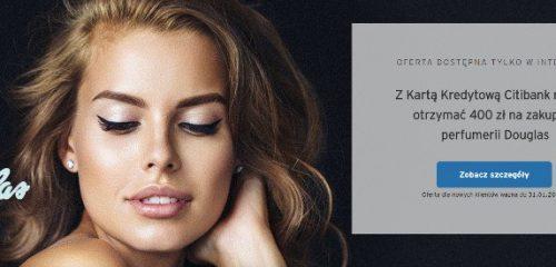twarz kobiety reklama perfumerii douglas