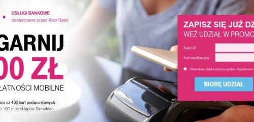 smartfon zbliżony do terminala płatniczego