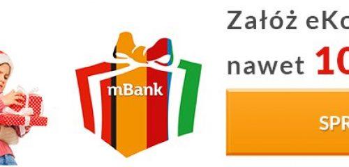 mBank: 100 zł premii za założenie eKonta i spełnienie prostych warunków