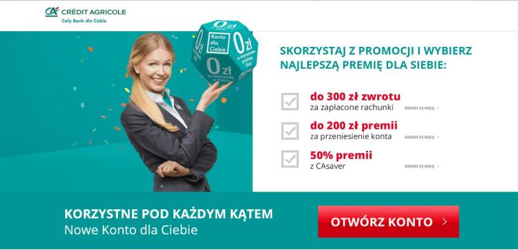 kobieta w garniturze reklamująca konto osobiste
