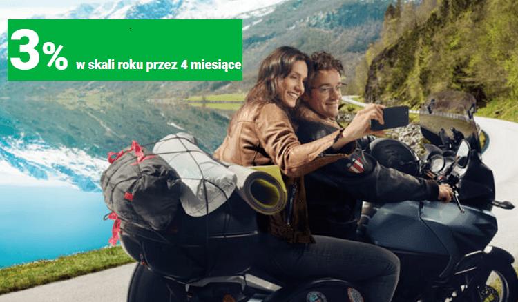 para na motocyklu ze smartfonem