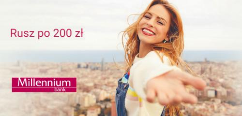 Bank Millennium: 200 zł za otwarcie Konta 360°