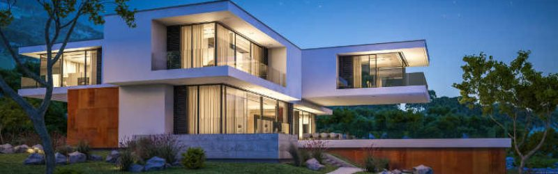 nowoczesny dom jednorodzinny