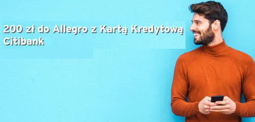 Citibank: 200 zł na Allegro za kartę kredytową Citi Simplicity