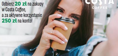 BNP Paribas: 250 zł w gotówce za Konto Otwarte na Ciebie i 20 zł na kawę
