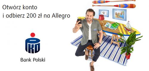 PKO BP: 200 zł do wykorzystania na Allegro za aktywność na PKO Konto za Zero