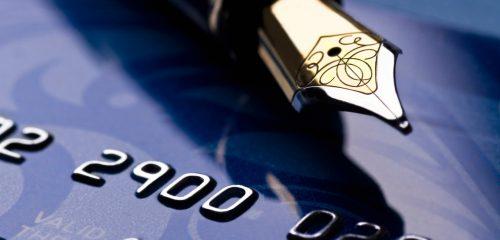 Pióro wieczne i karta kredytowa