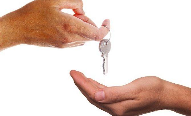przekazanie kluczy do domu
